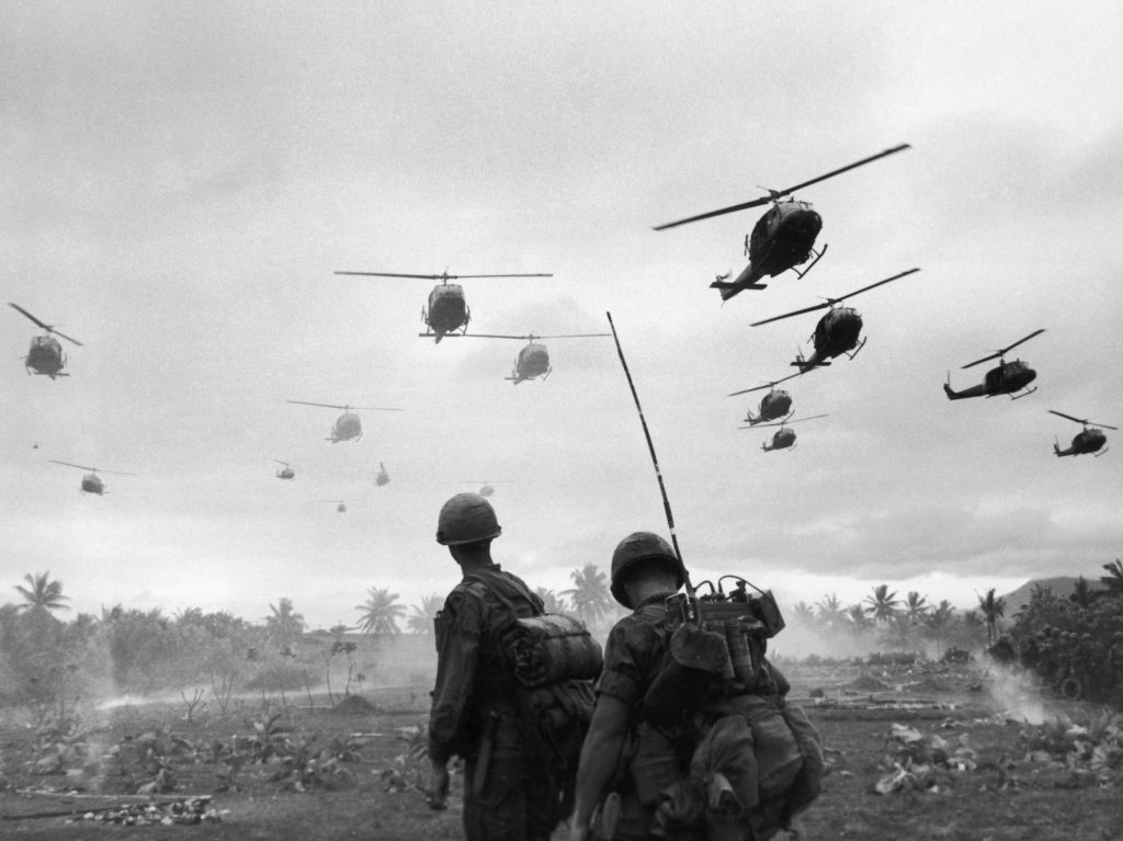 Soldiers in Vietnam (Photo by Patrick Christain/Getty Images)