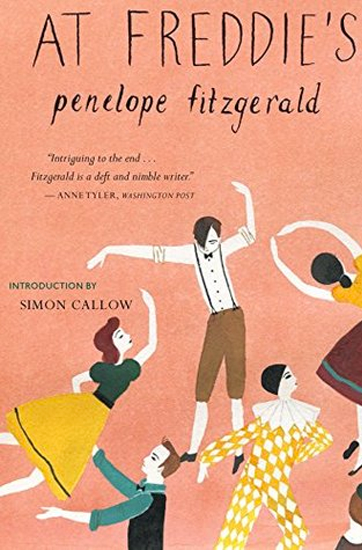 A book about London, At Freddie's by Penelope Fitzgerald