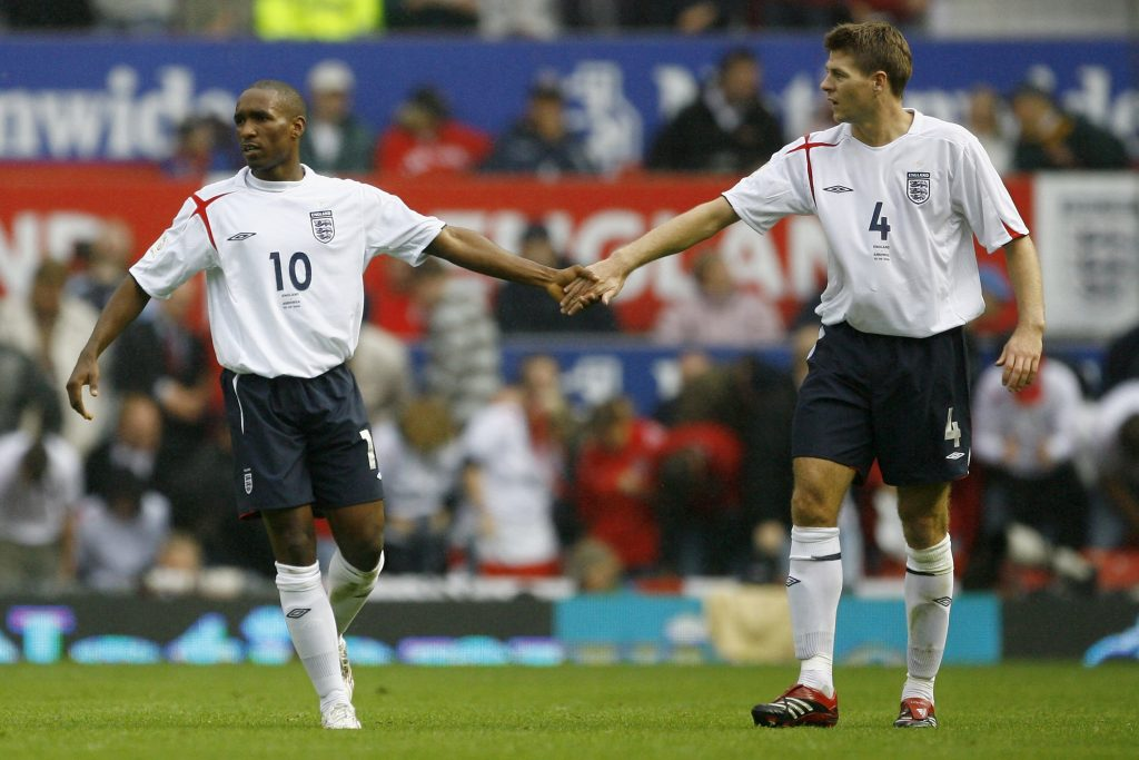 Steven Gerrard linked with Rangers move for Jermaine Defoe
