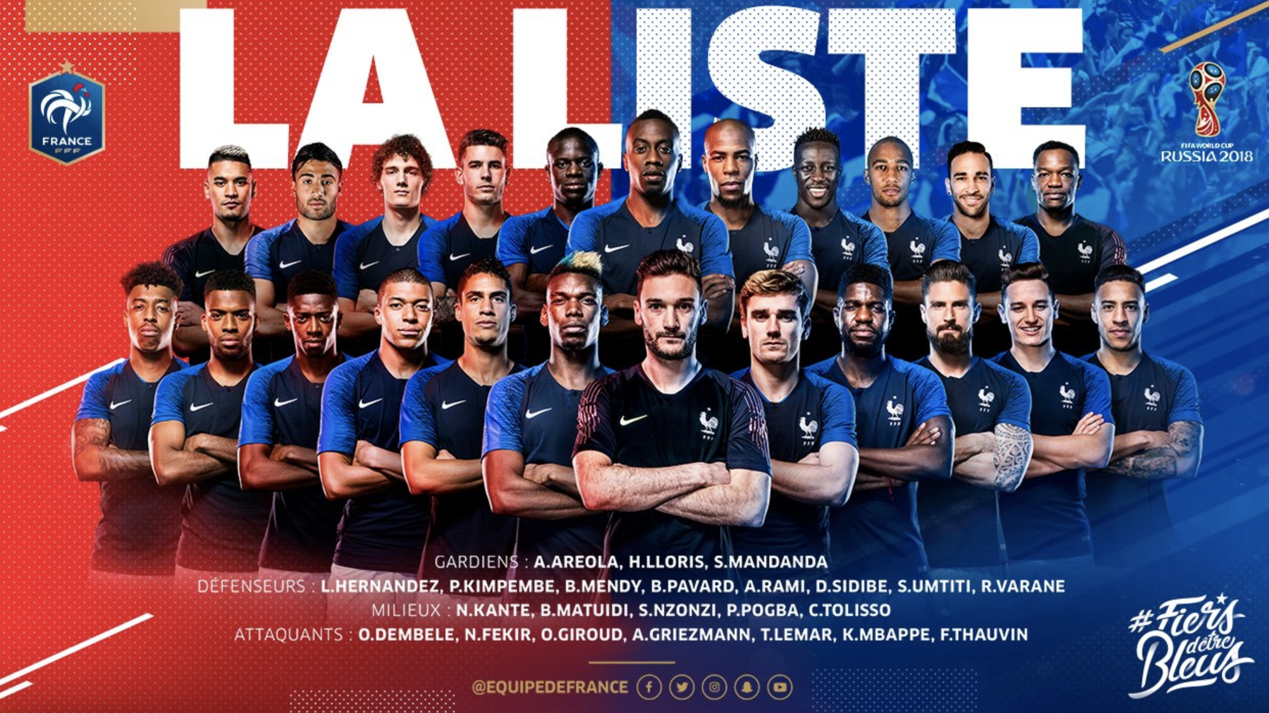 3 players who should not be in France's 23-man squad
