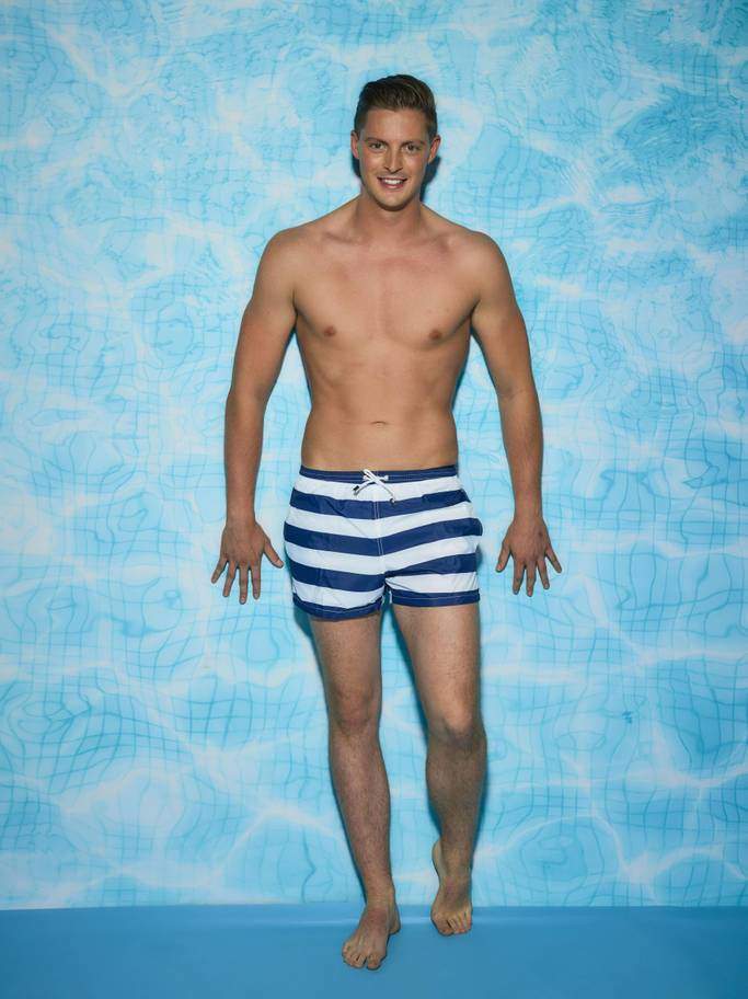 Alex George, 27, is from Carmarthen and a new contestant on Love Island 2018