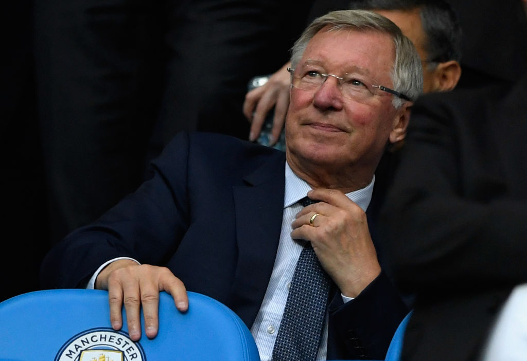 Former Manchester United manager Sir Alex Ferguson is 'out of the hospital'