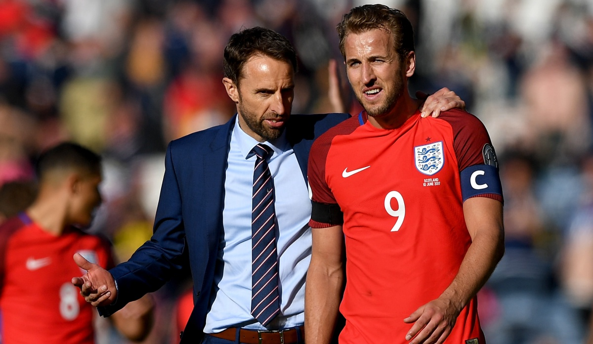 England fans lost their minds over Harry Kane's late game-winning goal