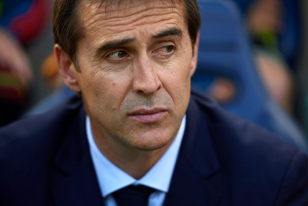 Lopetegui was named Real Madrid's next manager on Tuesday
