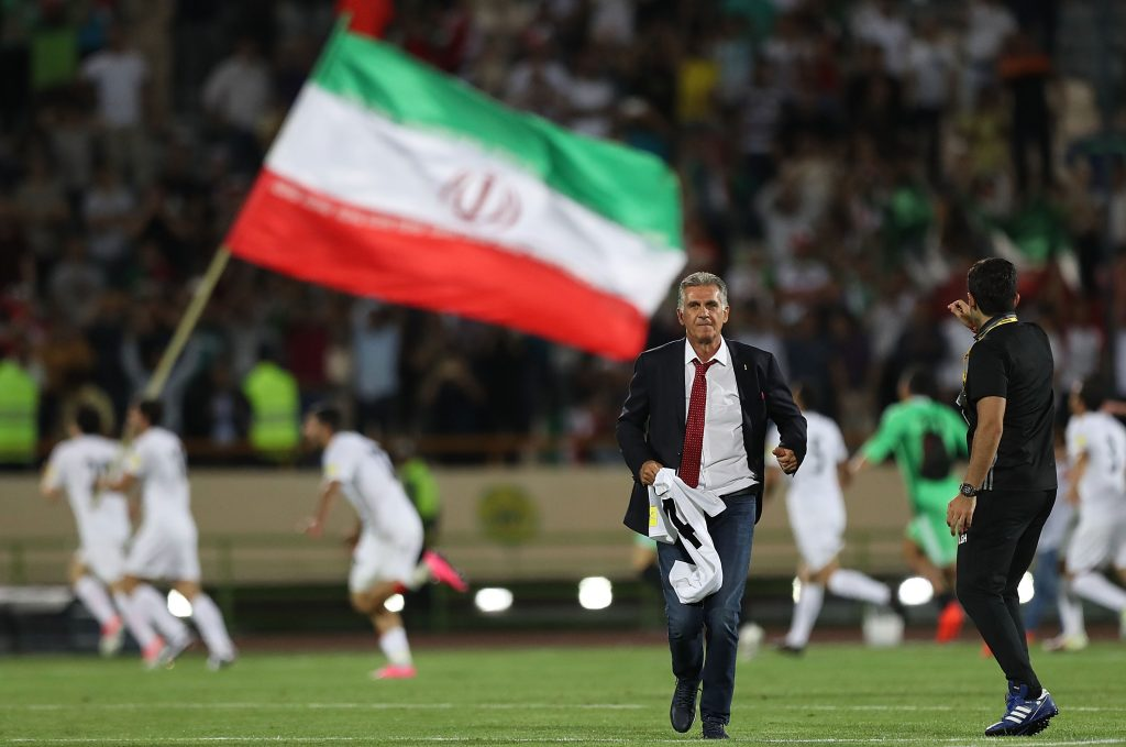Nike won't supply Iranian national soccer team with shoes, citing U.S.  sanctions