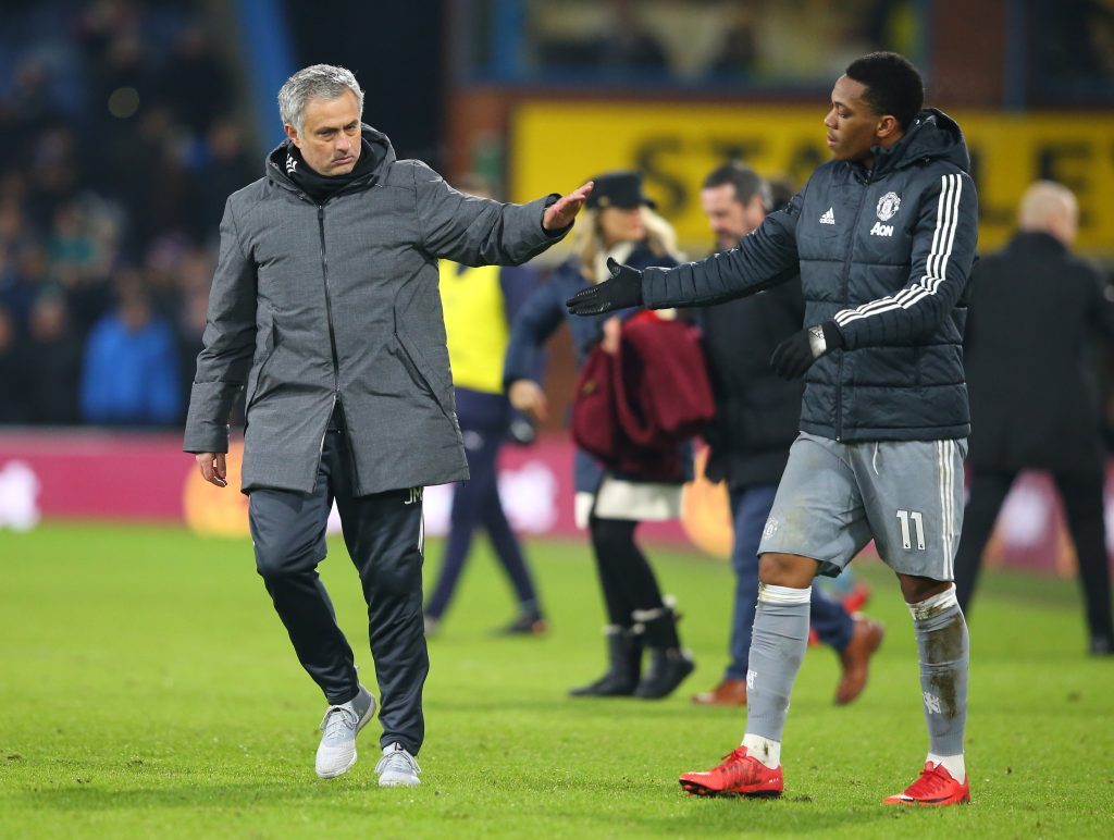 Jose Mourinho will allow Martial leave Manchester United on one condition