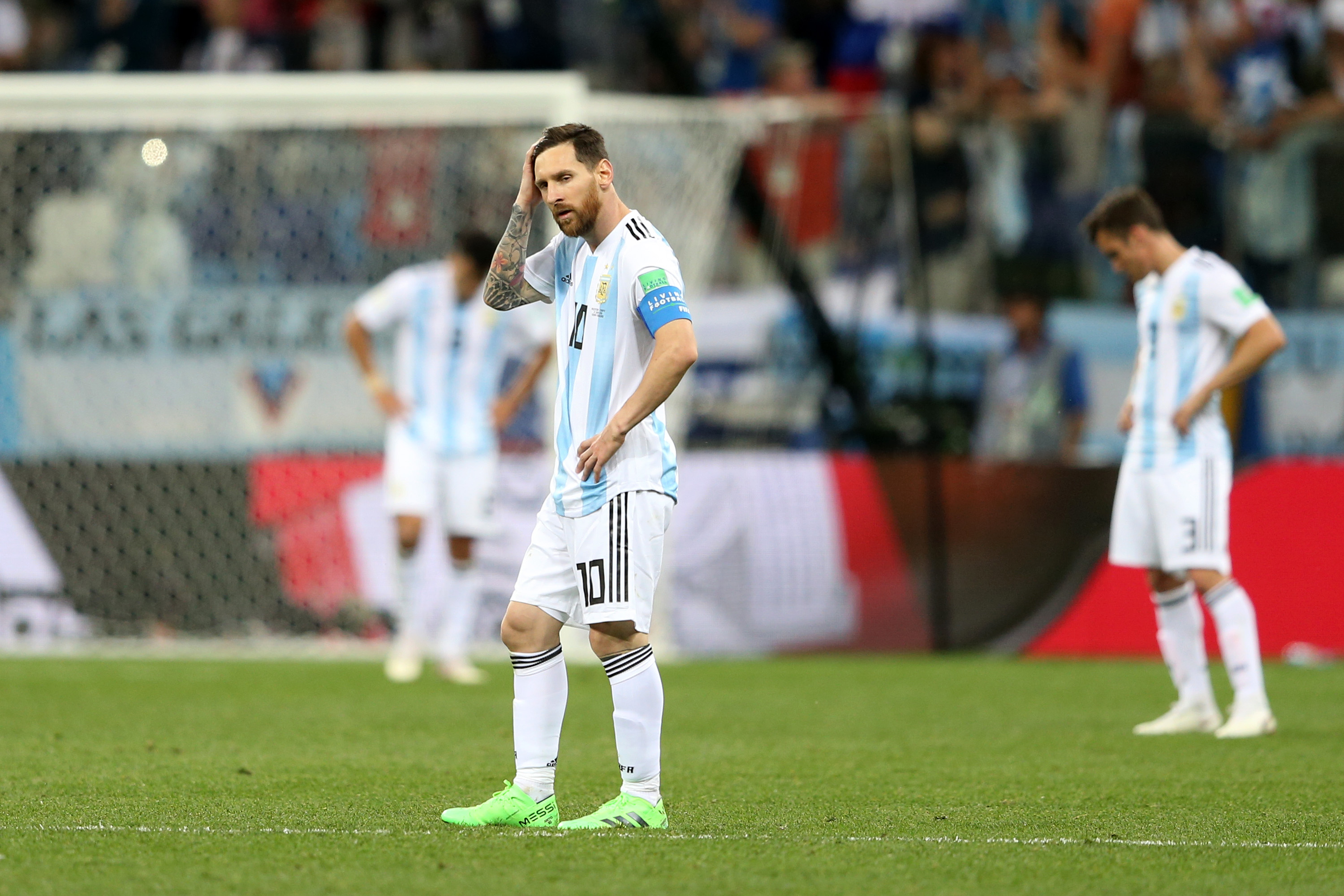 Messi skips birthday celebration for Eagles' showdown