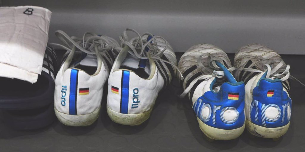 9a35dbc73 adidas stopped mass production of the boots two years ago but Kroos likes  them so much that he has them specially made and sent to him.