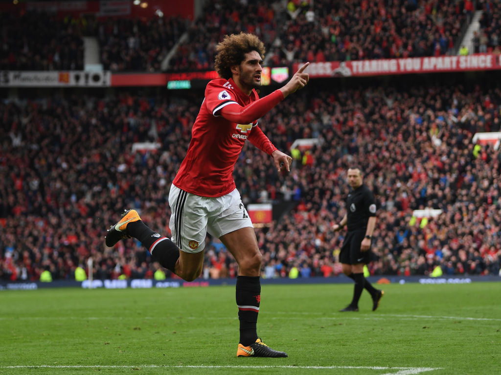 Manchester United reach agreement with Marouane Fellaini 72 hours before contract expiry