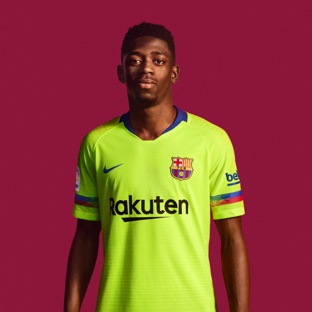 2fe4e599989 Barcelona s new away kit will make you not want to watch them play ...