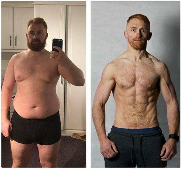 Man 'too fat for parachute' sheds seven stone in 12 months | JOE.co.uk