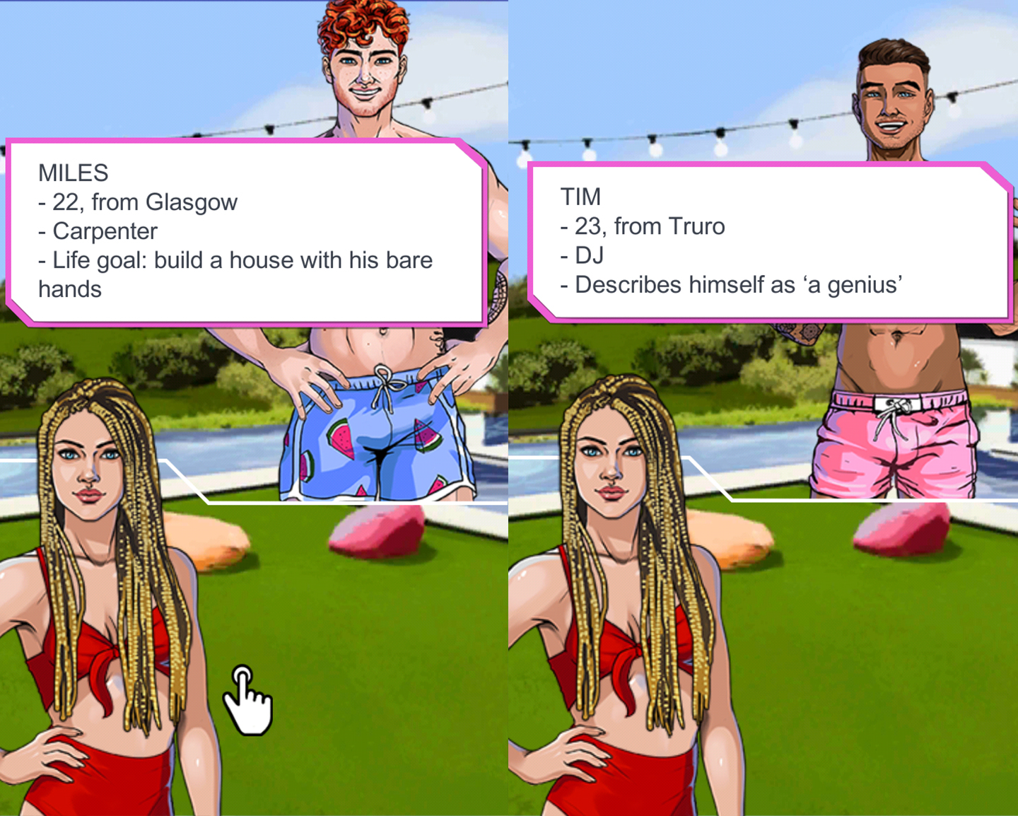 The Love Island video game is insane - and also sort of worth