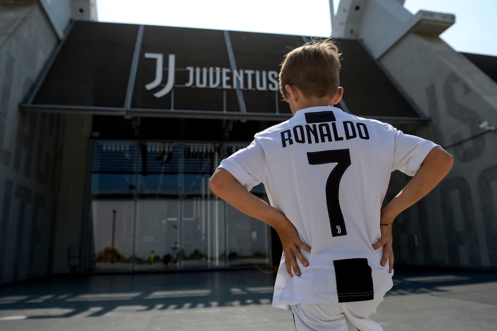 All set for Juventus, Cristiano Ronaldo chants 'Juve, Juve'