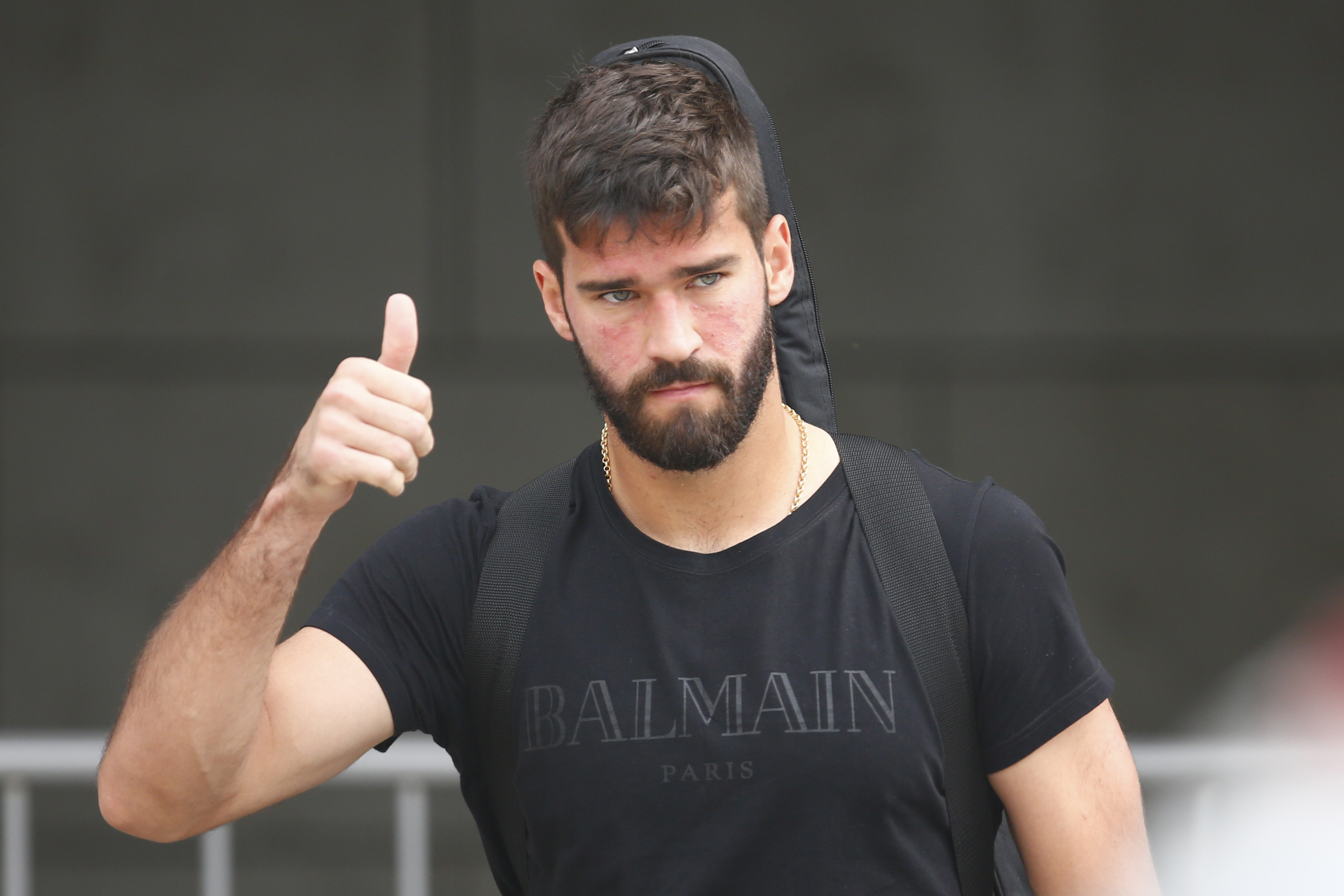 Alisson reveals Liverpool team-mate Mohamed Salah sent him a message