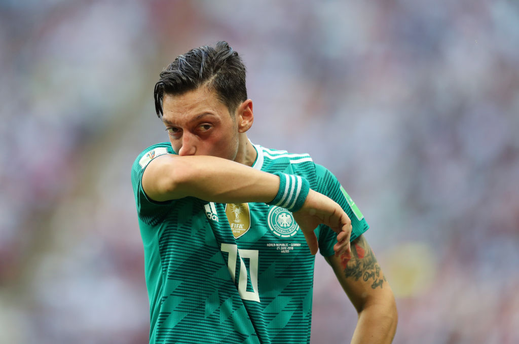 German-Turkish soccer player Ozil quits national team over Erdogan photo uproars