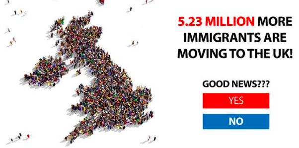 One of the dark ads used by Vote Leave on Facebook during the EU referendum