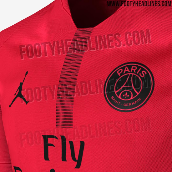 da04b5920ea A single vertical stripe made up of a series of black dots also runs down  the shirt's centre. The full range of Jordan PSG ...