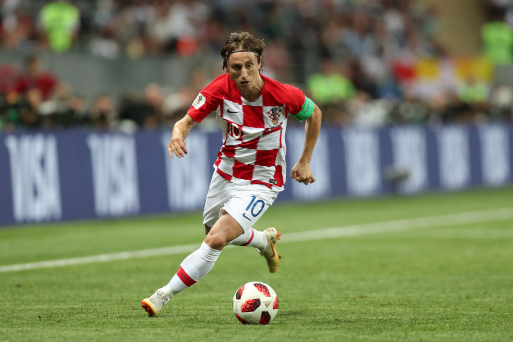 Real Madrid respond to talk of Luka Modric making Inter transfer