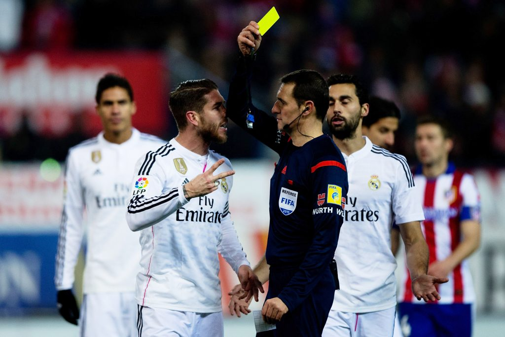 Real Madrid's Spain internationals are not too happy with Sergio Ramos