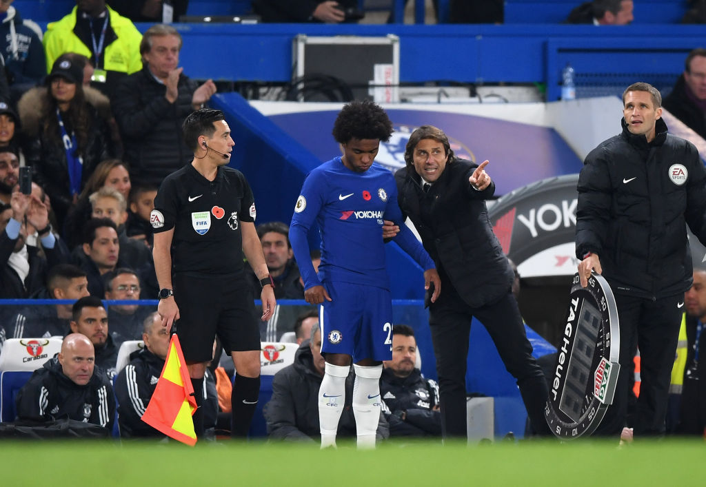 Chelsea boss Sarri: I need Luiz. I don't care about Conte row