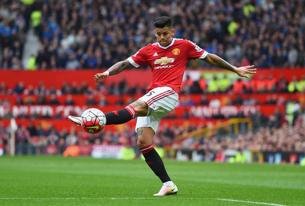 Marcos Rojo could be staying at United if Champions League qualifier ...