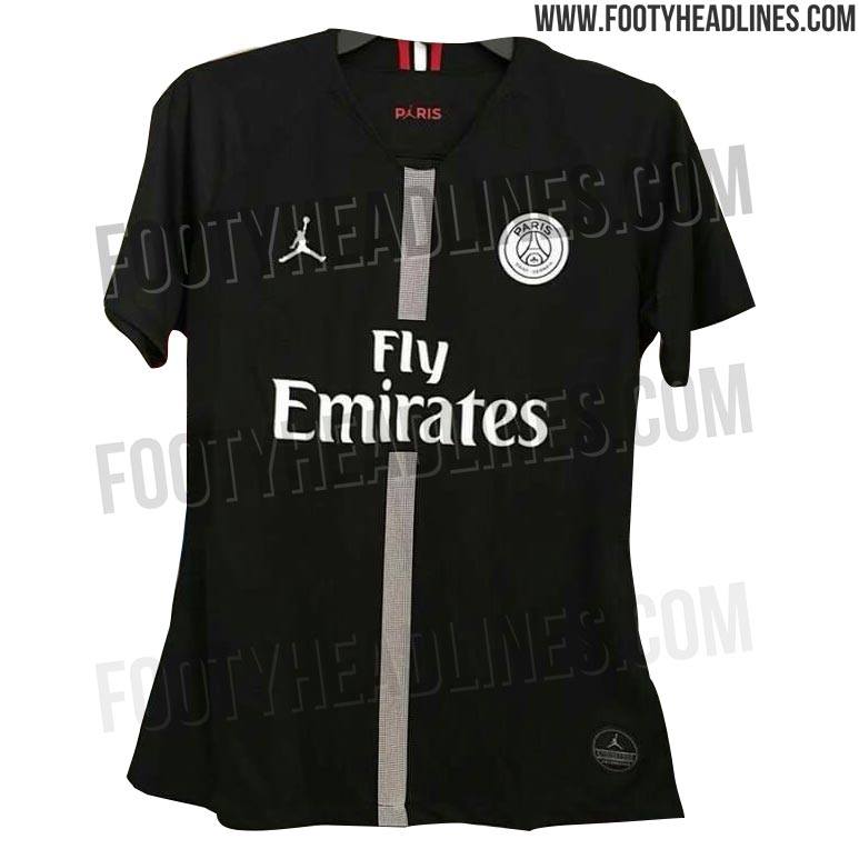 Paris Saint-Germain Jordan Champions League kits leaked