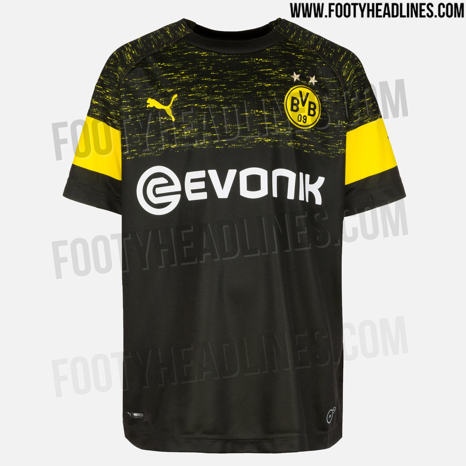 Images showing the new Borussia Dortmund away kit have been leaked ... 899341f58