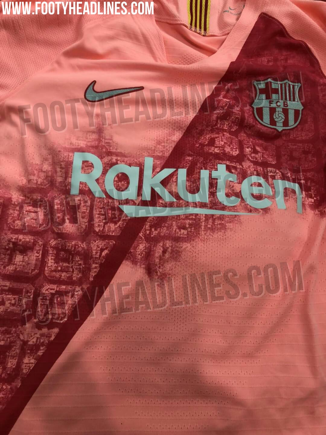 1fee73d25 Footy Headlines have shared leaked images of the shirt before it is  officially released in the next couple of weeks.