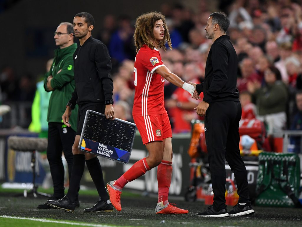 England turned down Ethan Ampadu for 'taking too few touches'