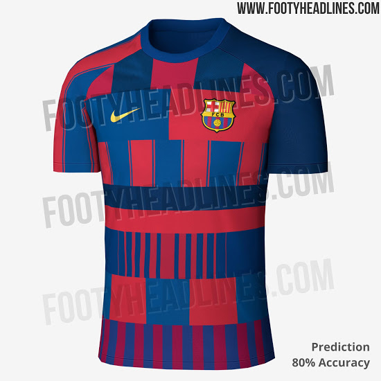 69e21fb2c42 Footy Headlines also point out that leaked images of the Nike Barca Mashup  collection s shin guards have also been leaked