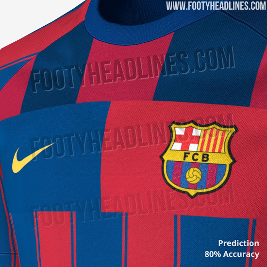 best service caa39 8264c Images leaked showing limited edition Nike FC Barcelona ...