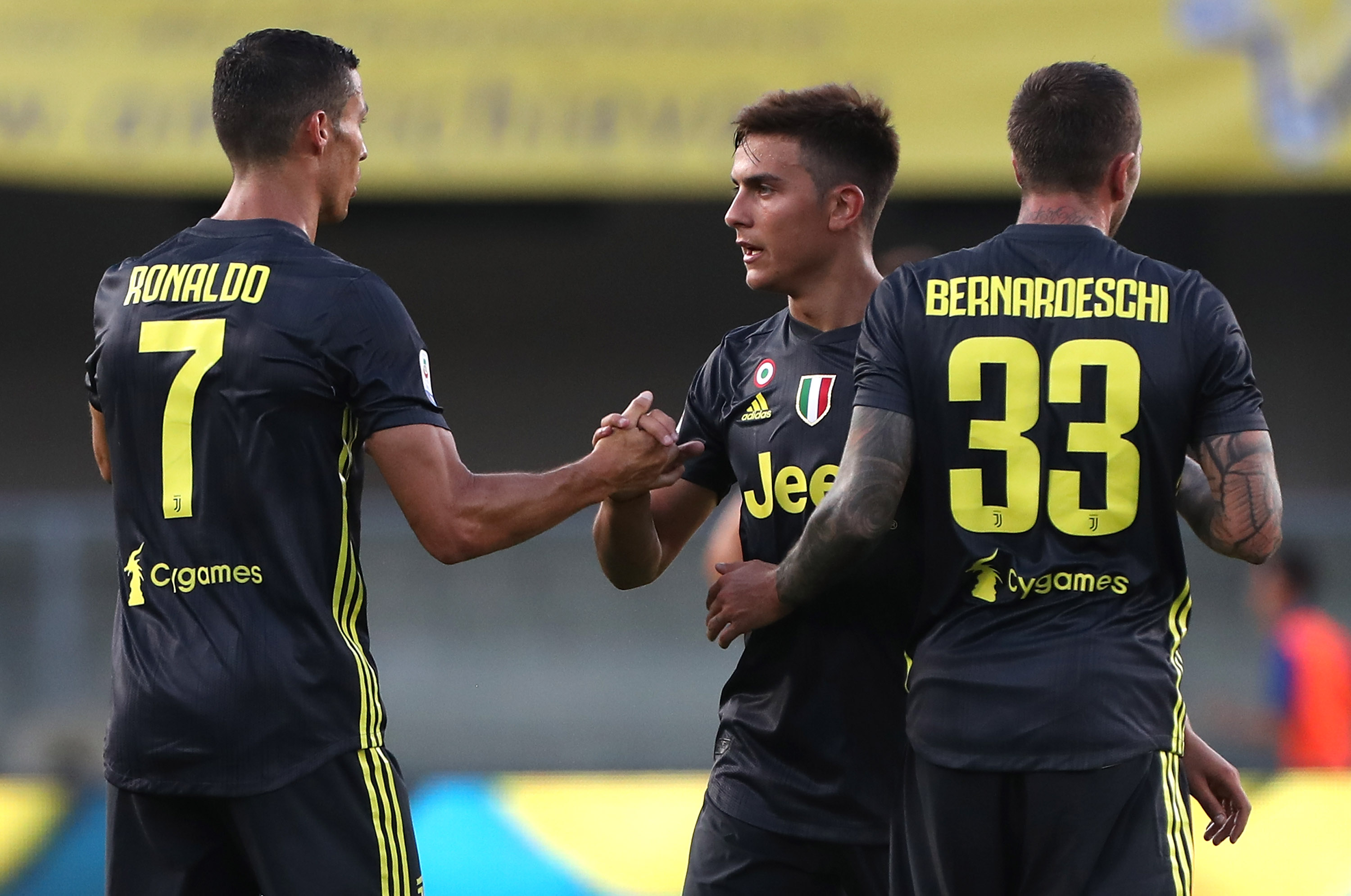 Juventus' Paulo Dybala: Cristiano Ronaldo and I working 'brilliantly' together