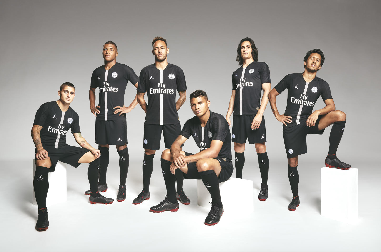 PSG, Jordan unveil collection for Champions League