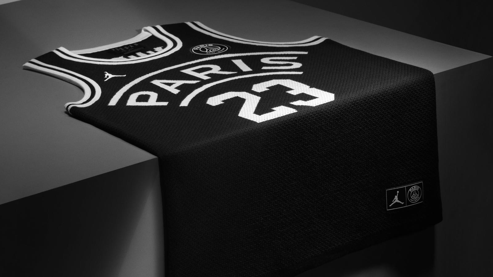 1629aca8c6d2a1 The Jordan Brand x Paris Saint-Germain collection releases on September 14  and the team will debut its Jordan kit on September 18 in the Champions  League.