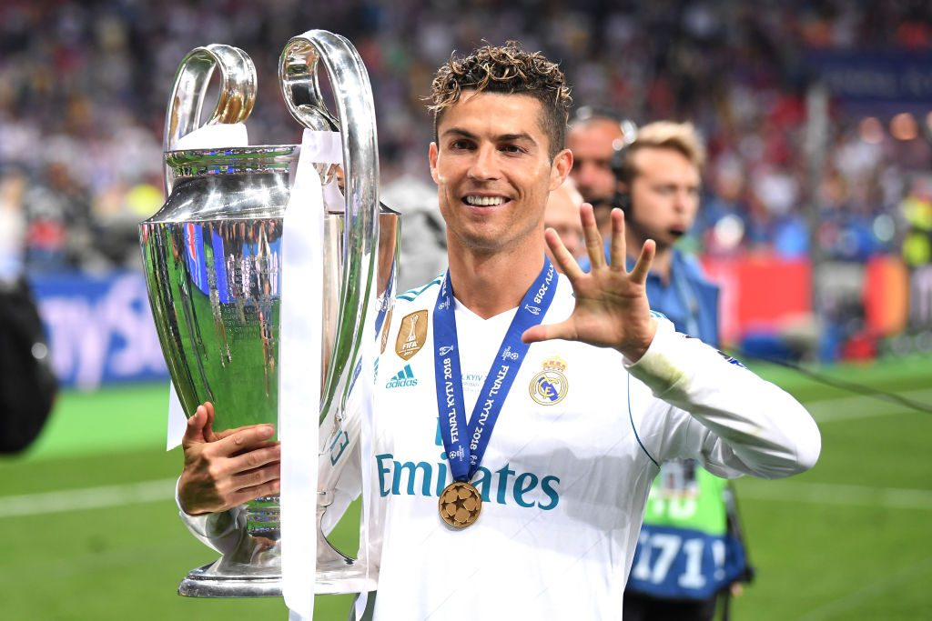 Ronaldo left Madrid in the summer after helping them win four Champions Leagues