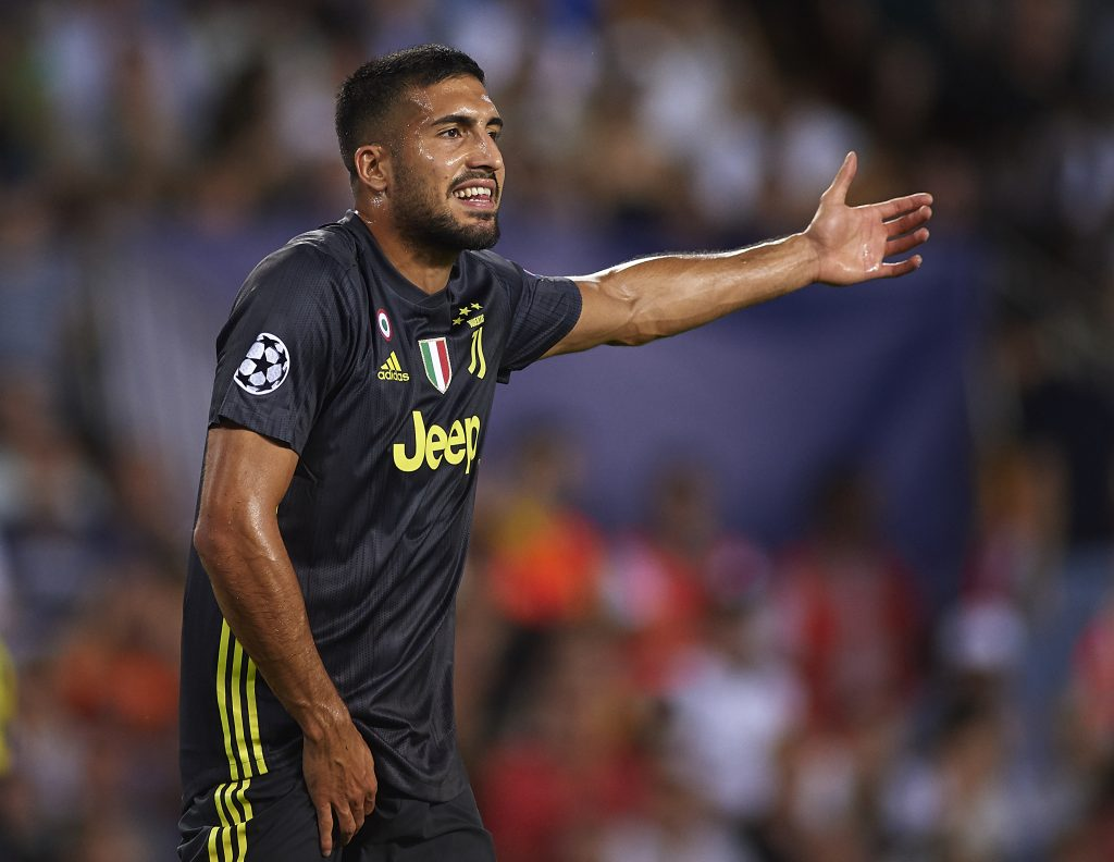 Emre Can sorry for 'we're not women' comment on Cristiano Ronaldo