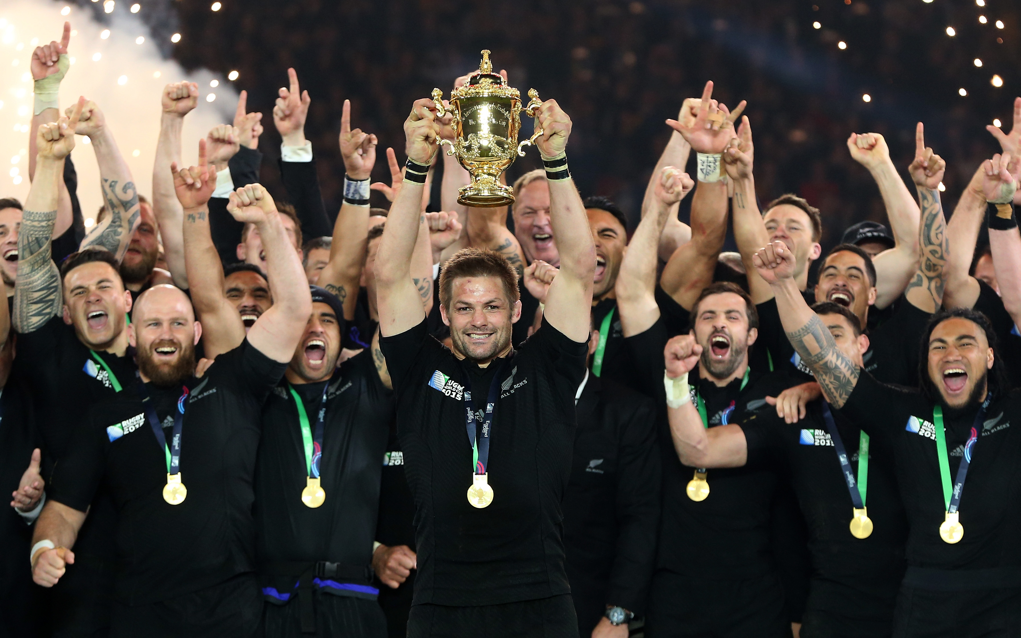 All Blacks win Rugby World Cup 2015