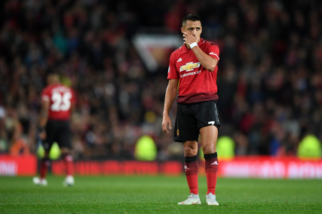 Alexis Sanchez agent begins talks over Manchester United exit