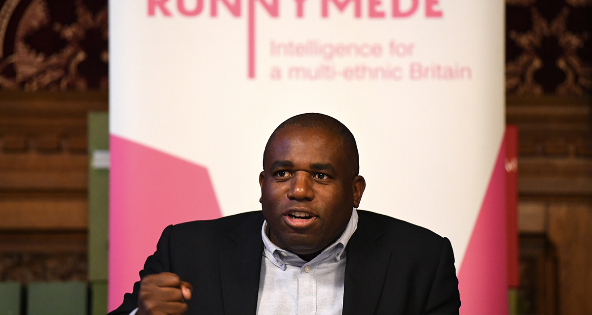 LONDON, ENGLAND - MAY 01: Labour MP David Lammy meets representatives of the Windrush generation at the House of Commons on May 1, 2018 in London, England. Residents from the Caribbean and African Commonwealth countries first arrived on the HMT Empire Windrush from June 1948 until the 1970s. Recently many from the Windrush Generation have been asked to leave the UK or denied healthcare as they have no official documentation. The British Home Secretary, Amber Rudd, resigned over the matter when it transpired she had 'inadvertently misled' parliament on the Home Office's policy on enforced returns. (Photo by Chris J Ratcliffe/Getty Images)