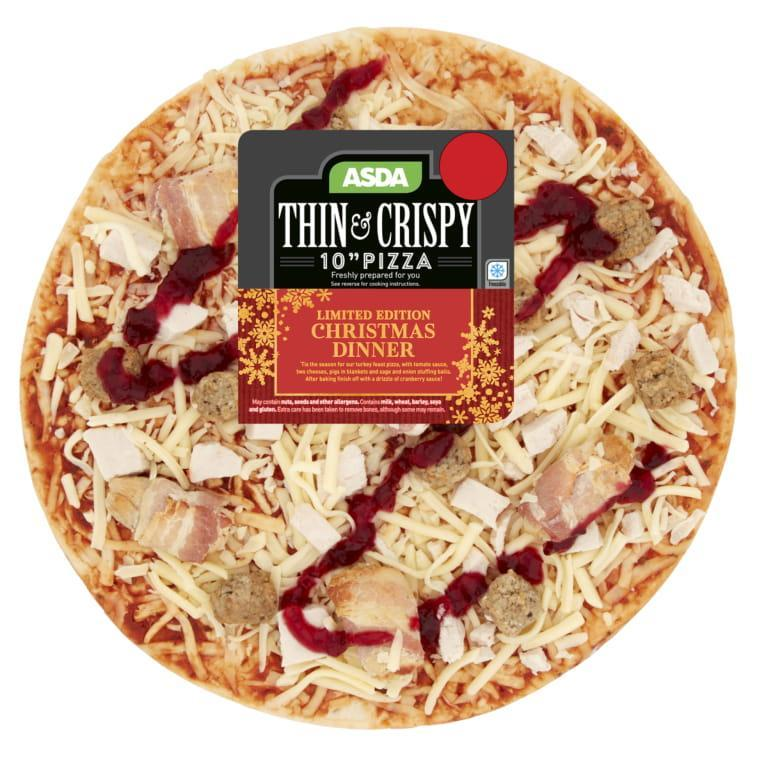 Asda Is Selling A Limited Edition Christmas Dinner Pizza
