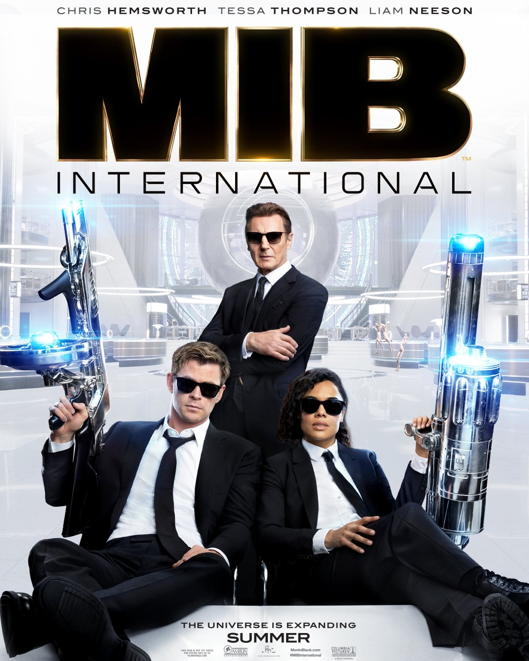 First 'Men In Black: International' trailer is amusing, sexy and weird