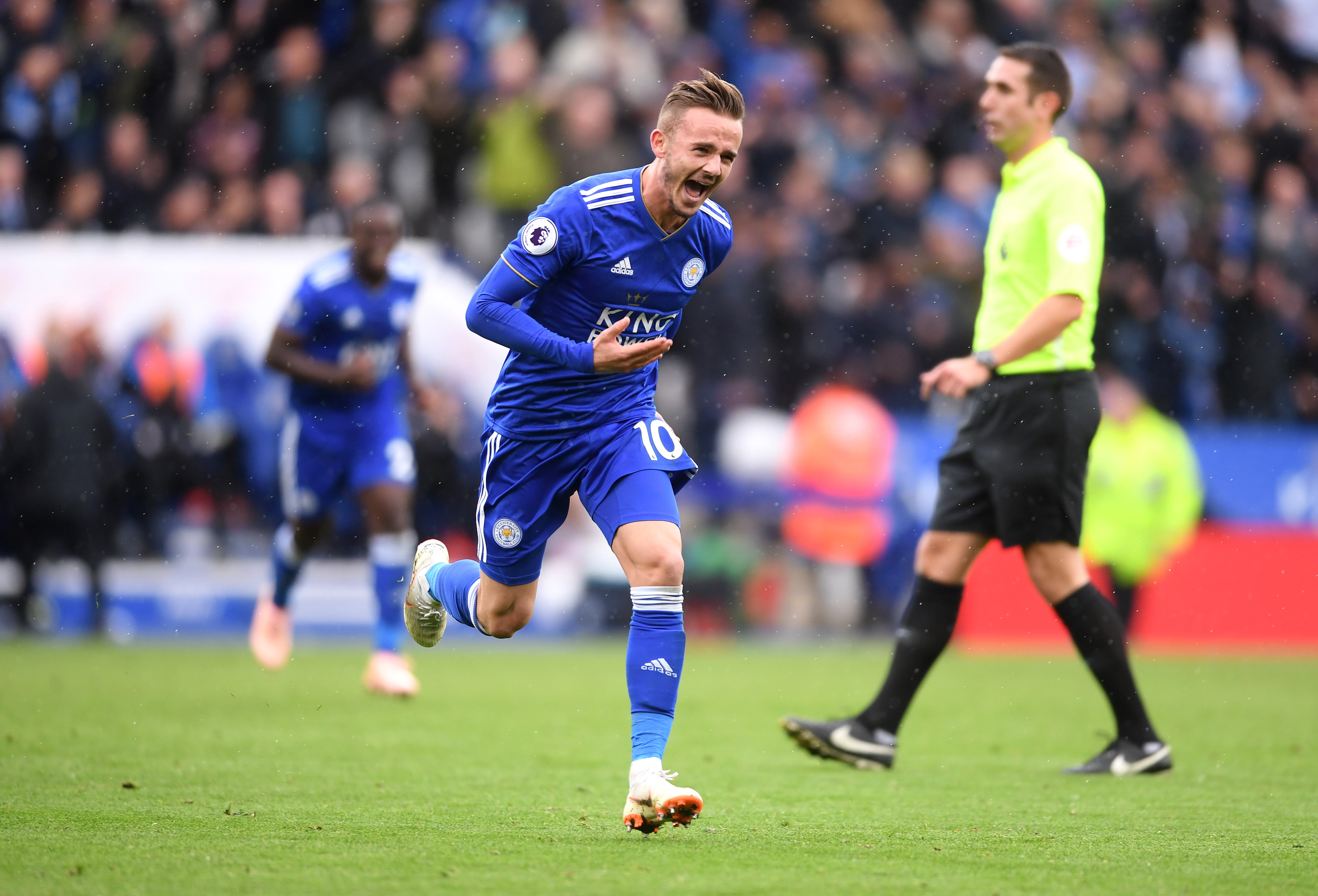 Spurs line up James Maddison as replacement for Christian Eriksen