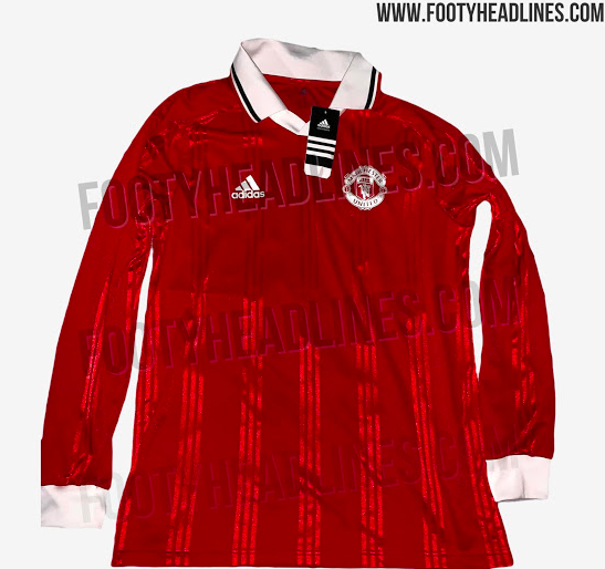 low priced c54f3 ee783 A Manchester United retro jersey has been leaked and it's an ...