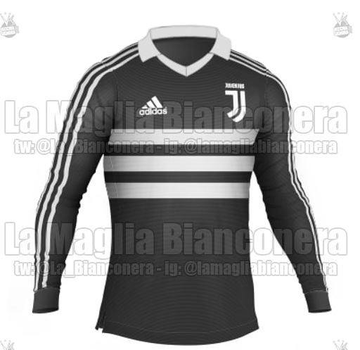 a802647ba ... Adidas have gone for the three stripes across the chest effect in black and  white. FootyHeadlines.com also believe a variation for Brazilian club ...