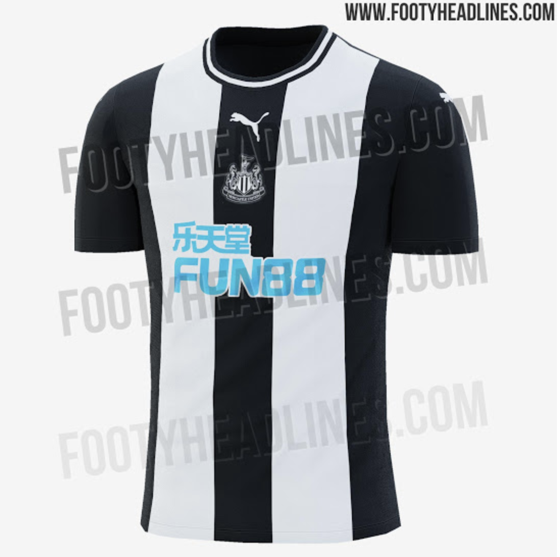 19adc535b According to FootyHeadlines - a website which is always extremely reliable  on new kit leaks - the black and white striped shirt is due to be released  by ...