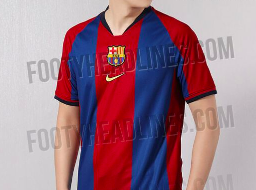 Nike to release special edition retro remake Barcelona shirt ... 93d50be81b48