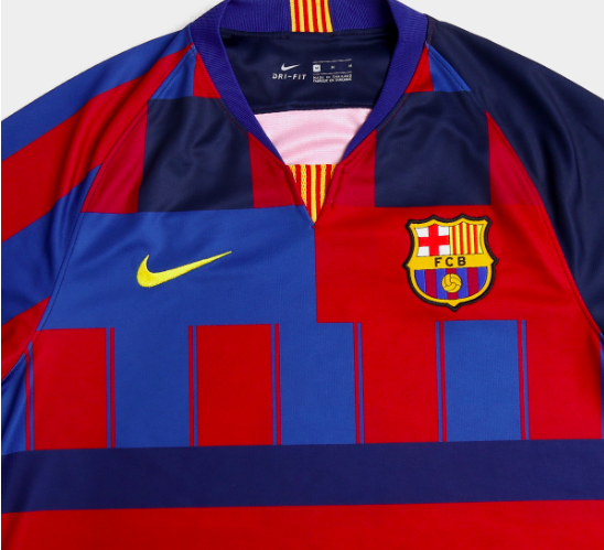 best sneakers ed8a6 7f33e Nike to release special edition retro remake Barcelona shirt ...