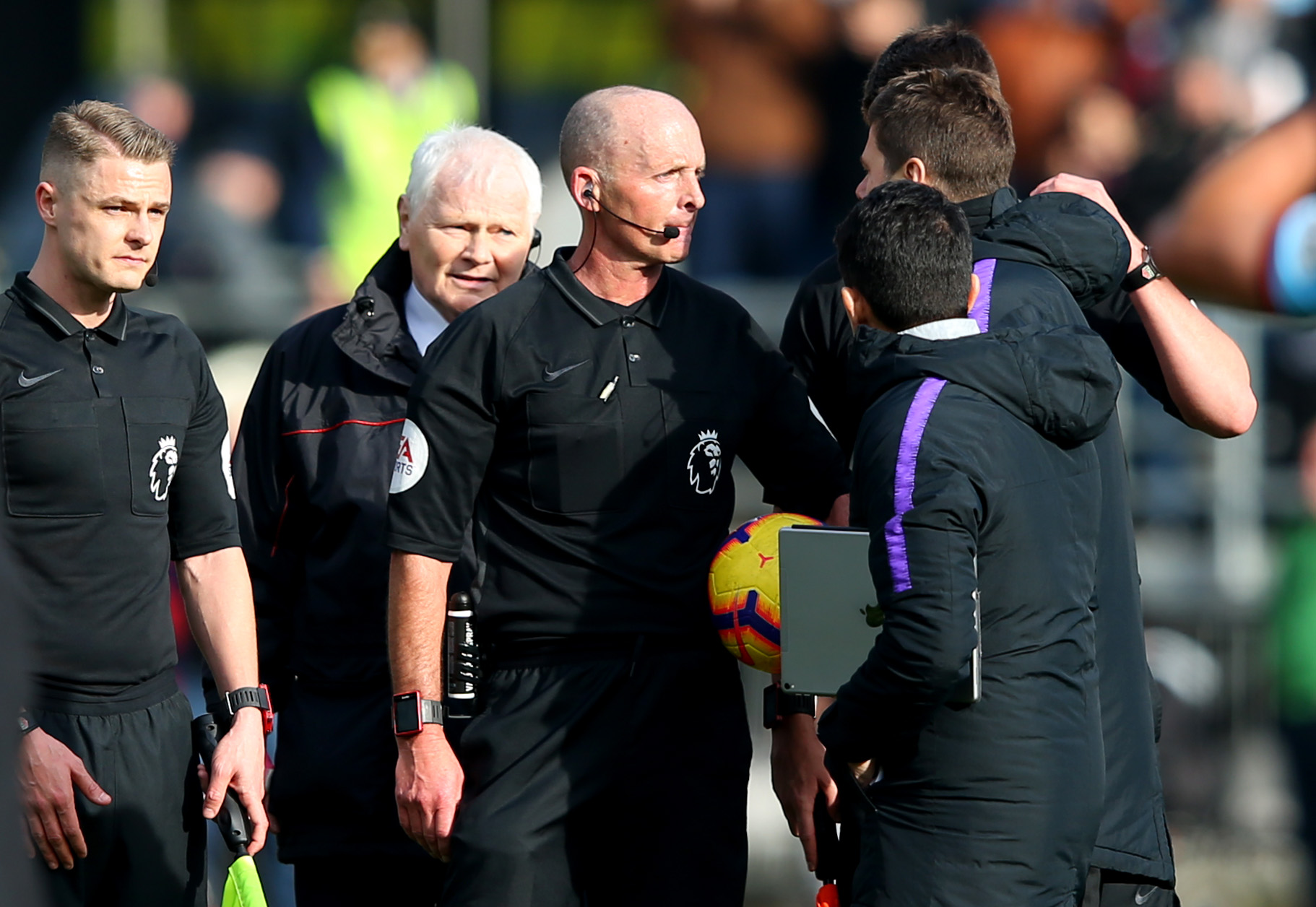 Pochettino given two-match ban after ref outburst