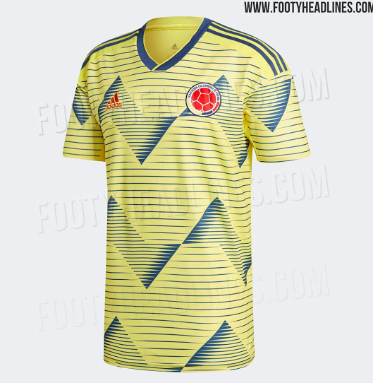 new colombia shirt