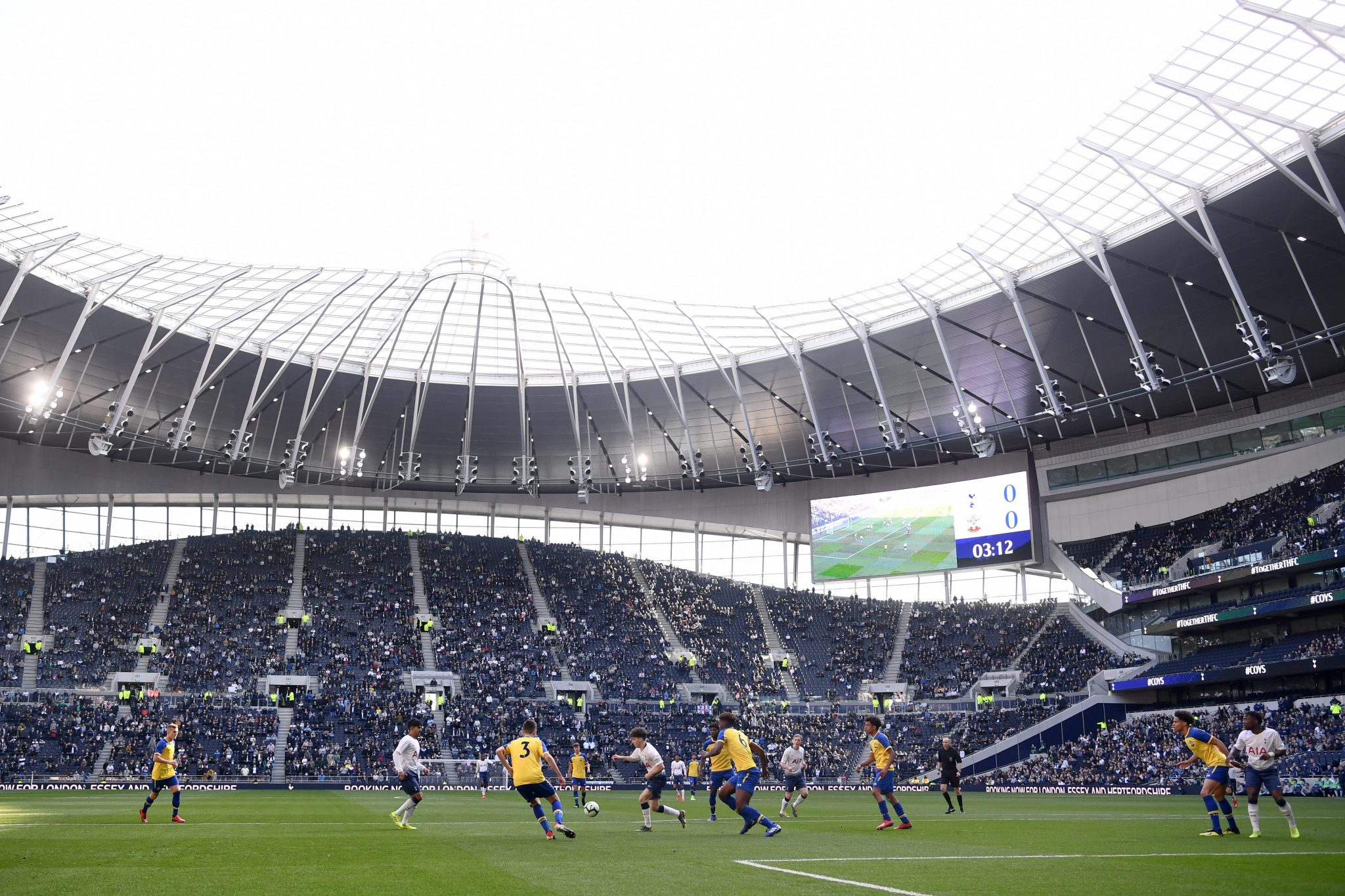 WATCH: The first ever goal scored at Tottenham Hotspur's new stadium